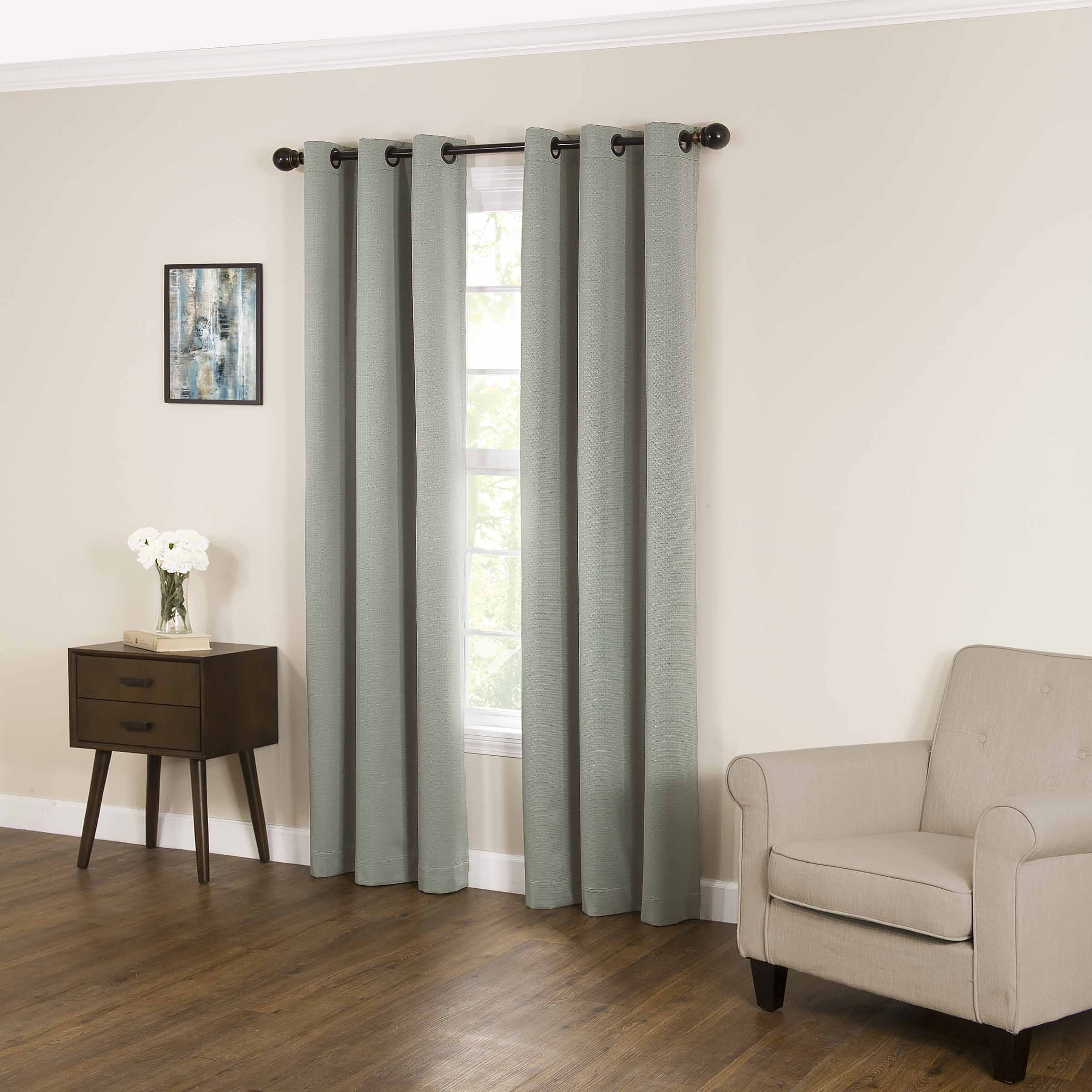 Eclipse Derby Fashion Blackout Window Curtain