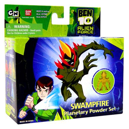 Ben 10 Alien Force Swampfire Planetary Powder Set