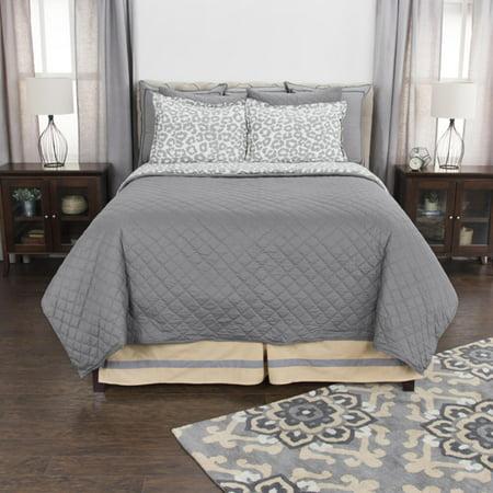 Rizzy Home BQ4143 Gray 106x92