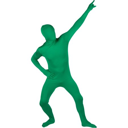 Green Lantern Onesie Adults (Adult Spandex Second Skin Full Bodysuit Costume by Capital Costumes)