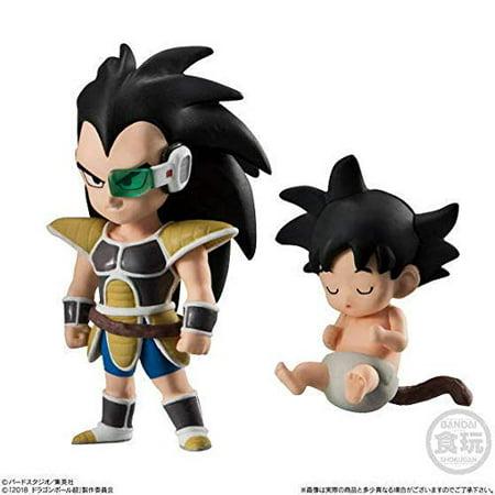Bandai Shokugan Dragon Ball ADVERGE 9 6. Raditz and Kakarot (Childhood Version) Bandai 9 Pocket