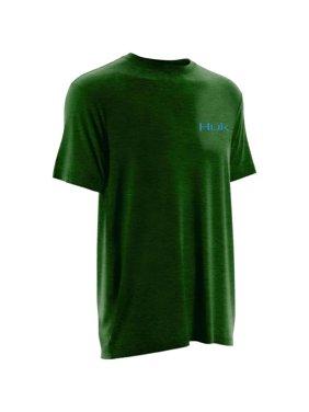 970e6e0fbabd Product Image Huk Men's KC Scott Midnight Banks Small Heather Tree Frog  Short Sleeve Shirt