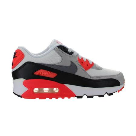 Nike - Womens Nike Air Max 90 OG White Infrared Grey Black 742455-100 -  Walmart.com a283cb5bb