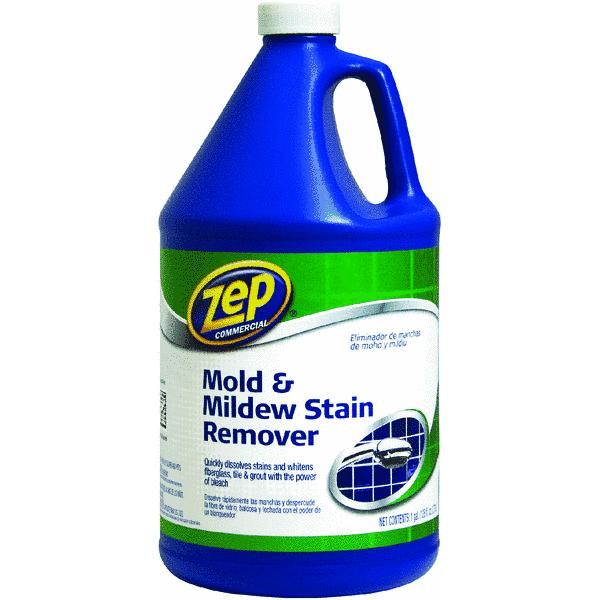 Zep Commercial Mildew Stain Remover, 1 gal