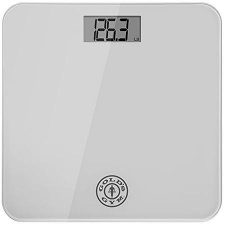 Gold S Gym Digital Tempered Glass Bathroom Body Weight
