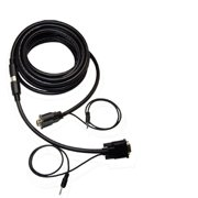 Eagle Electronics 180557QN 75Ft Quick-SNAP QXGA with Audio 3 Plus 4TP CL2-FT4 Rated M-M - 28AWG - RoHS