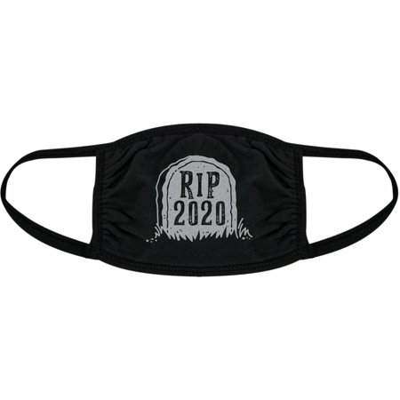 RIP 2020 Face Mask Funny New Year Social Distancing Graphic Novelty Nose And Mouth Covering