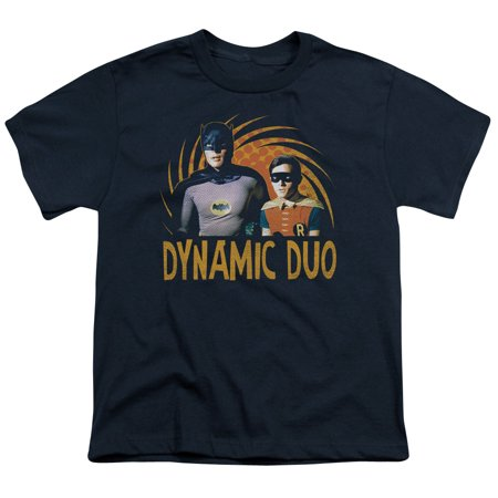 Dynamic Sleeve - Batman Classic Tv - Dynamic - Youth Short Sleeve Shirt - Medium