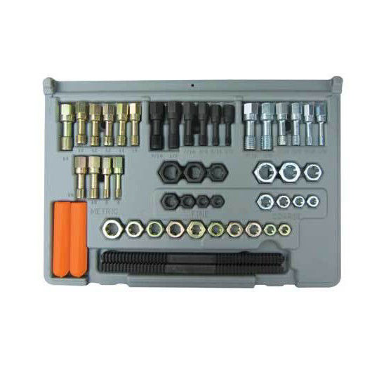 Lang 971 48-Piece SAE and Metric Thread Restorer Kit