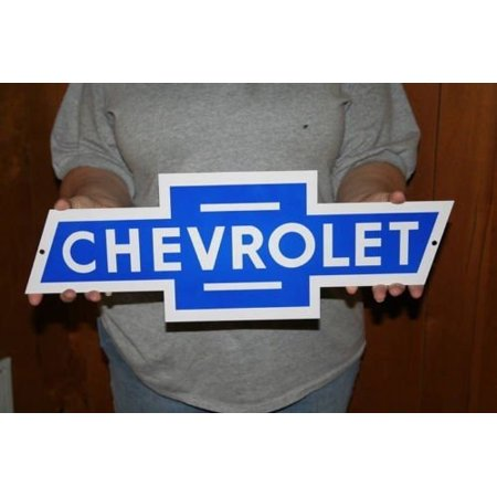 GM Chevrolet Vintage Chevy Bowtie Metal Sign (21
