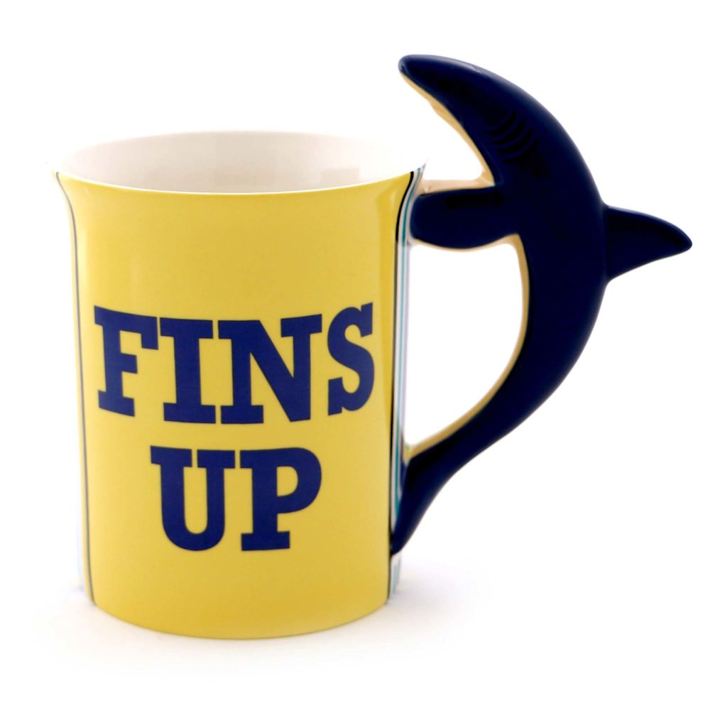 Our Name Is Mud Margaritaville 6000153 Fins Up Shark Mug