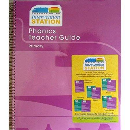 Storytown: Phonics Teacher Guide Primary 2008 Phonics Teachers Guide