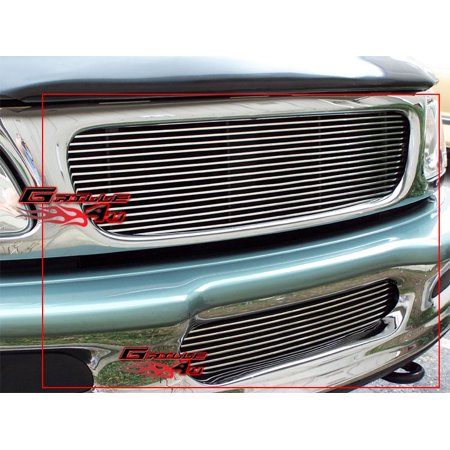 4wd Precision Grilles (Fits 97-98 Ford F-150 4WD/Expedition Billet Grille Combo )
