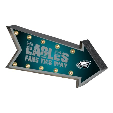 Forever Collectibles Arrow Light Up Marquee Sign, Philadelphia ...