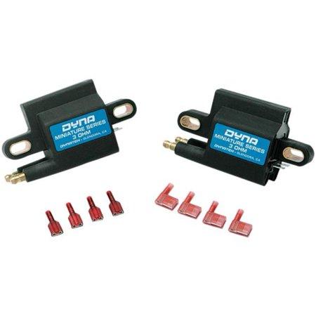 Dynatek DC1-3 Miniature Series Coil - 3.0 ohm - Dual-Tower - Dual Fire - Single Plug