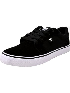 5089f144ced00 Product Image Dc Men s Anvil Canvas Black   White Ankle-High Skateboarding  Shoe - 10M