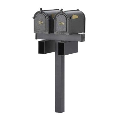 Whitehall Duo Mailbox Post