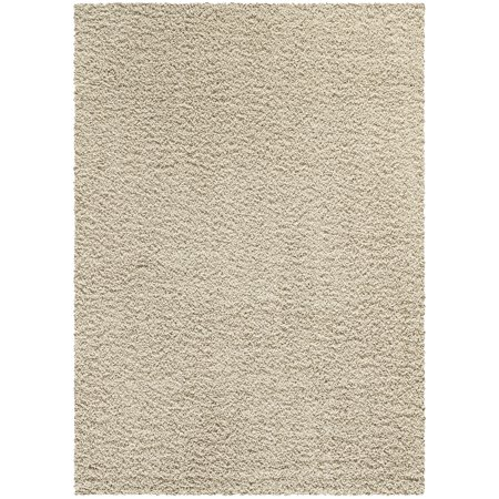Mainstays Manchester Solid Cut Pile Shag Area Rug or Runner Collection (Floor Runners By The Foot)
