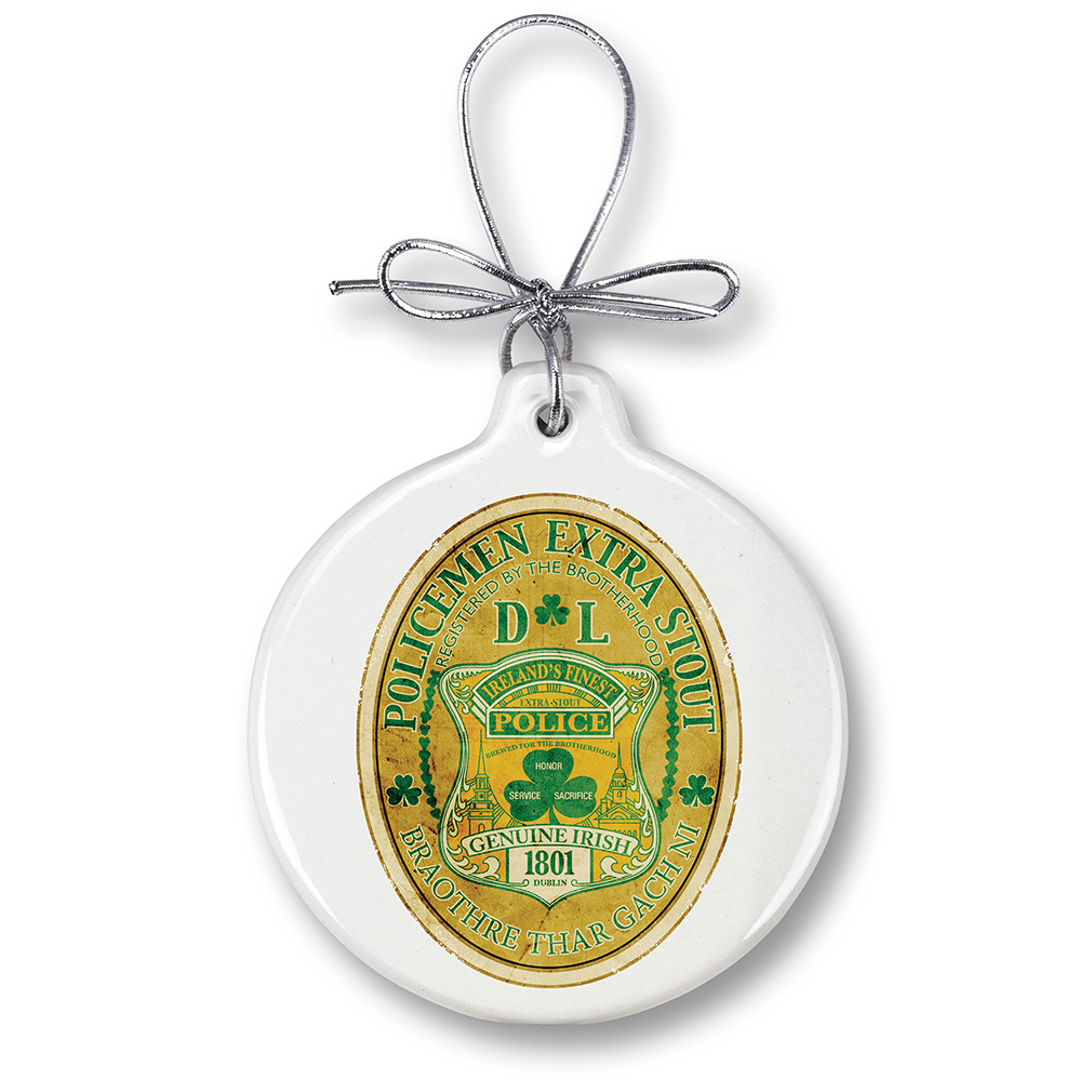 Police Irelands Finest -Christmas Tree Ornaments