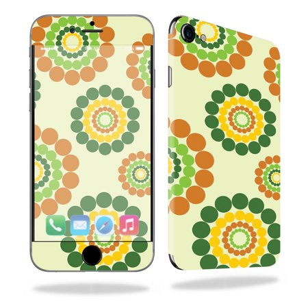 Easy Hippie Outfits (Skin For Apple iPhone 7 – Hippie Flowers | MightySkins Protective, Durable, and Unique Vinyl Decal wrap cover | Easy To Apply, Remove, and Change Styles | Made in the)