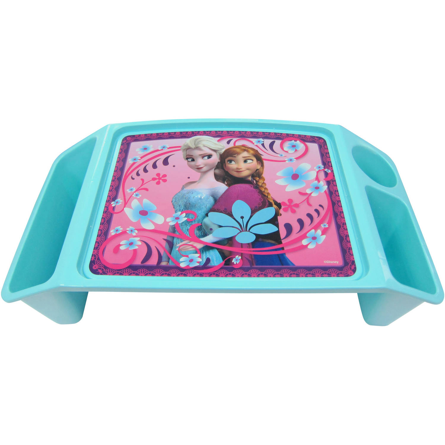 Art Desk For Kids Lap With Storage Craft Disney Frozen Activity Tray Com