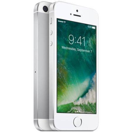Walmart Family Mobile Prepaid Apple iPhone SE 32GB, Silver (Limit 2) Sales...