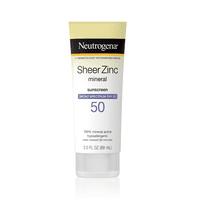 Neutrogena Sheer Zinc Dry-Touch Sunscreen Lotion with SPF 50, 3 fl. oz