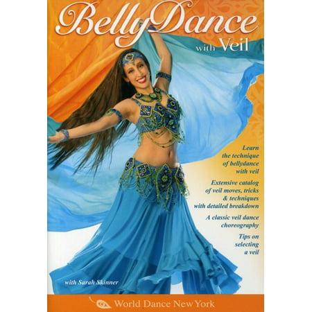 BELLYDANCE WITH VEIL (DVD)](Arab Bellydance)