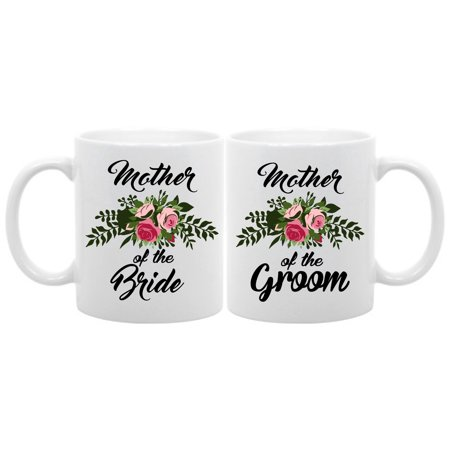Mother of the bride/groom set- 11 oz. coffee mug wedding