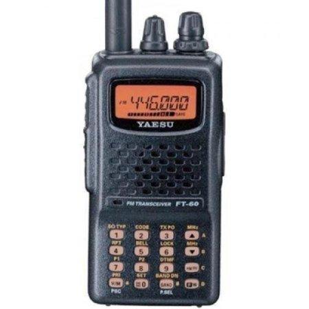 (Yaesu FT-60R Dual Band Handheld 5W VHF / UHF Amateur Radio Transceiver)