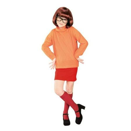 Costumes pour toutes les occasions Ru38963Lg Scooby Doo Velma enfant Lg - image 1 de 1