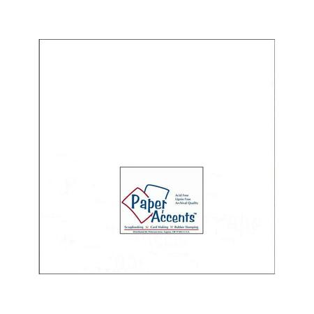 ADP1212-25 128 CDSTK SMOOTH 12X12 65LB 25PC PK WHITE - image 1 de 1