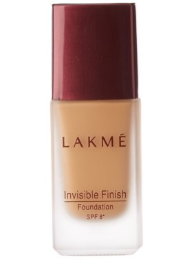 Lakme Invisible Finish SPF 8 Foundation, Shade 04, 25ml