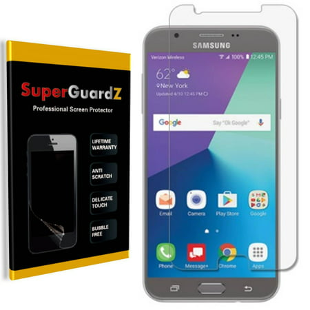 [4-Pack] SuperGuardZ Samsung Galaxy J7 Sky Pro Screen Protector, Ultra Clear, Anti-Scratch,