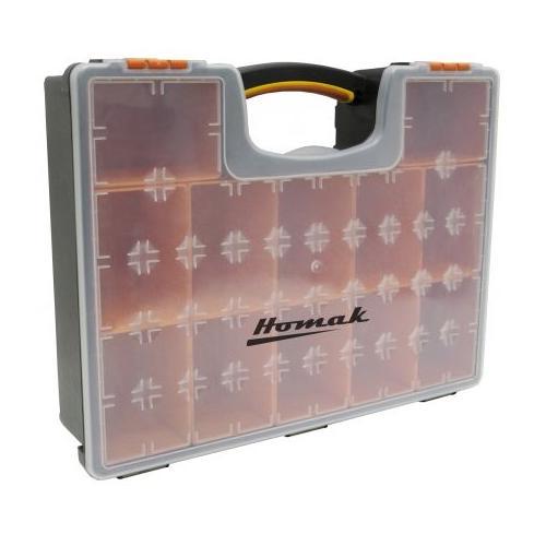 Homak HA01112425 Plastic Organizer Removable Bins Each