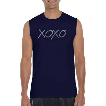 Men's Sleeveless T-Shirt - Xoxo