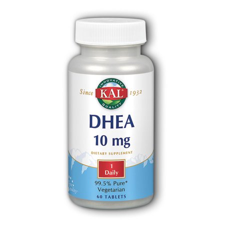 Kal 500 Mg 60 Tabs - DHEA-10 10 mg By KAL - 60  Tablets