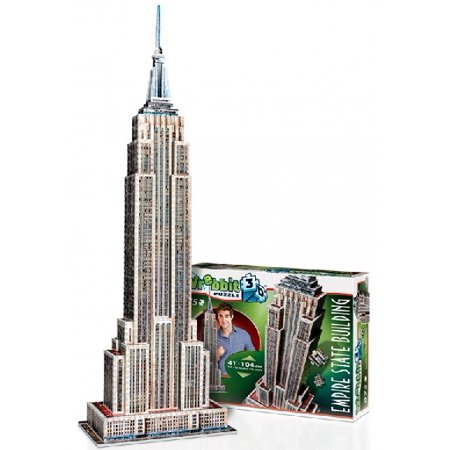 Wrebbit 3D: Empire State Building, USA Foam Puzzle (975pcs) Wrebbit 3D: Empire State Building, USA Foam Puzzle (975pcs)