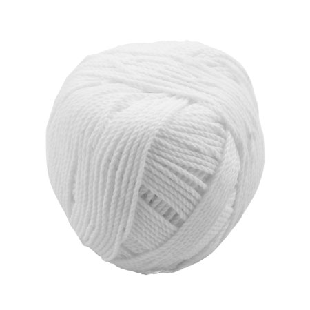 Unique Bargains Cotton 164Ft Twine String Rope Binder School Office Accounts Book White