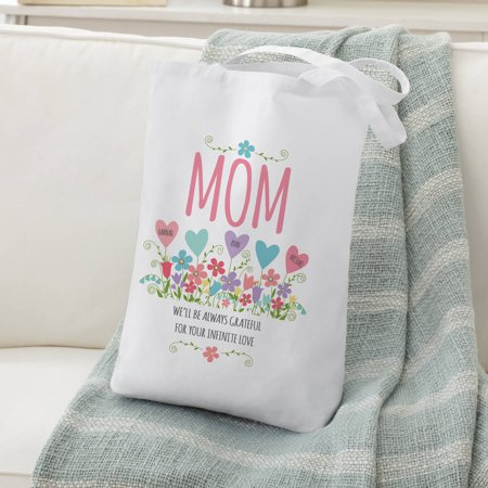 Personalized Heart Garden Tote