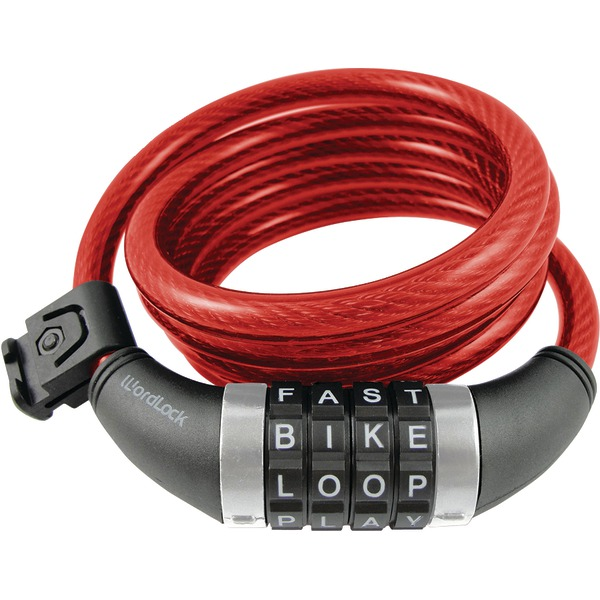 WORDLOCK WL CMBO RESET LOCK RED