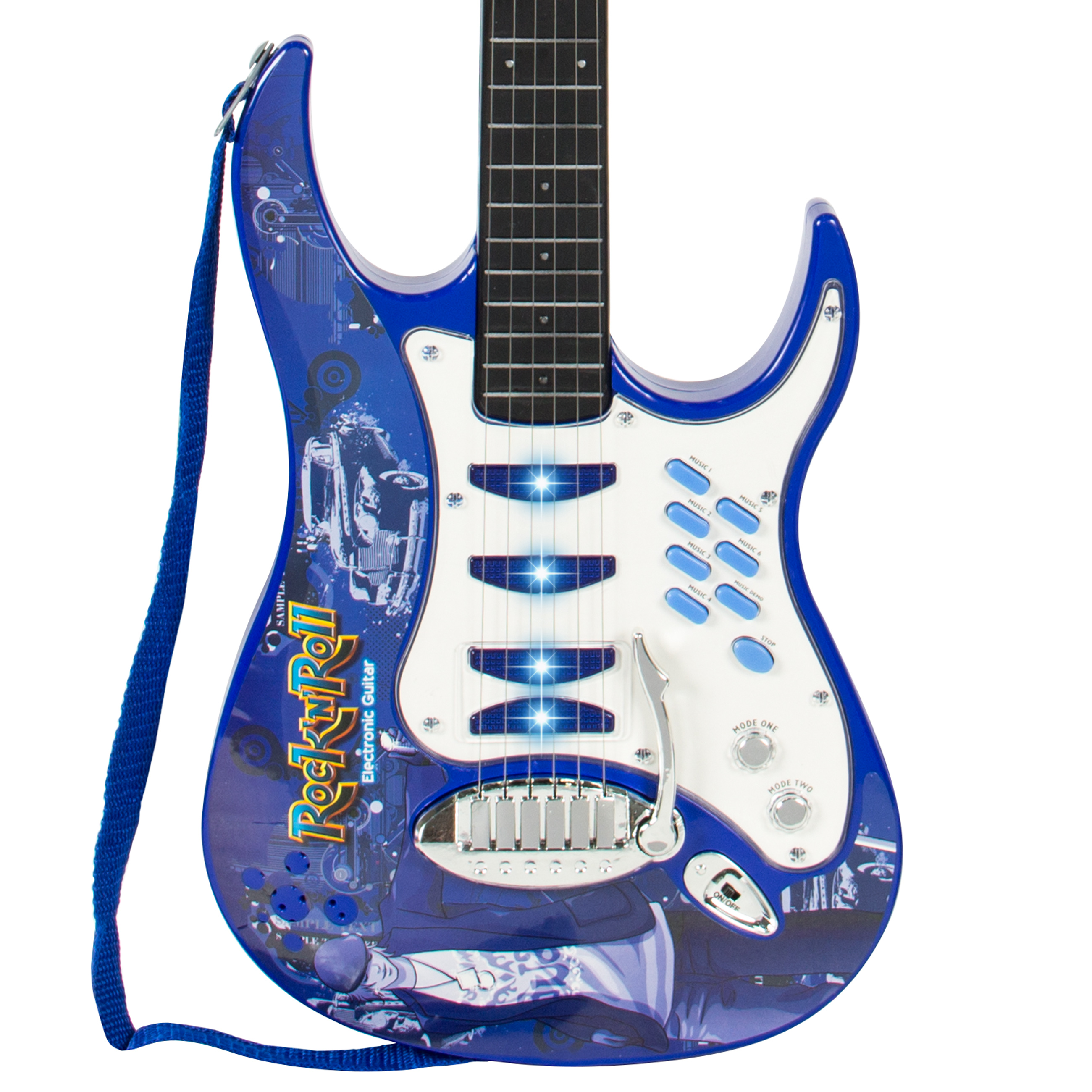 Best Choice Products Kids Electric Guitar Play Set W MP3 Player