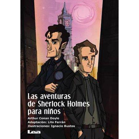Las aventuras de Sherlock Holmes para niños - Bordes Para Word De Halloween