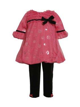 e369c49a4dca8 Product Image Bonnie Jean Pink Sparkle Dot Pant Set - FINAL SALE CLEARANCE  4-one left