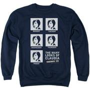 Warehouse 13 Many Looks Mens Crewneck Sweatshirt