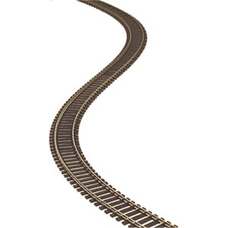 Atlas Model Railroad ATM500 HO Scale 3 ft. Super Flex Track with Wood Ties