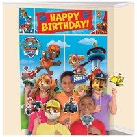 Paw Patrol Boys Child Birthday Party Photo Backdrop & Props Set