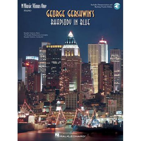 Gershwin - Rhapsody in Blue: Music Minus One Piano (Gershwin Concerto In F Piano Solo Sheet Music)