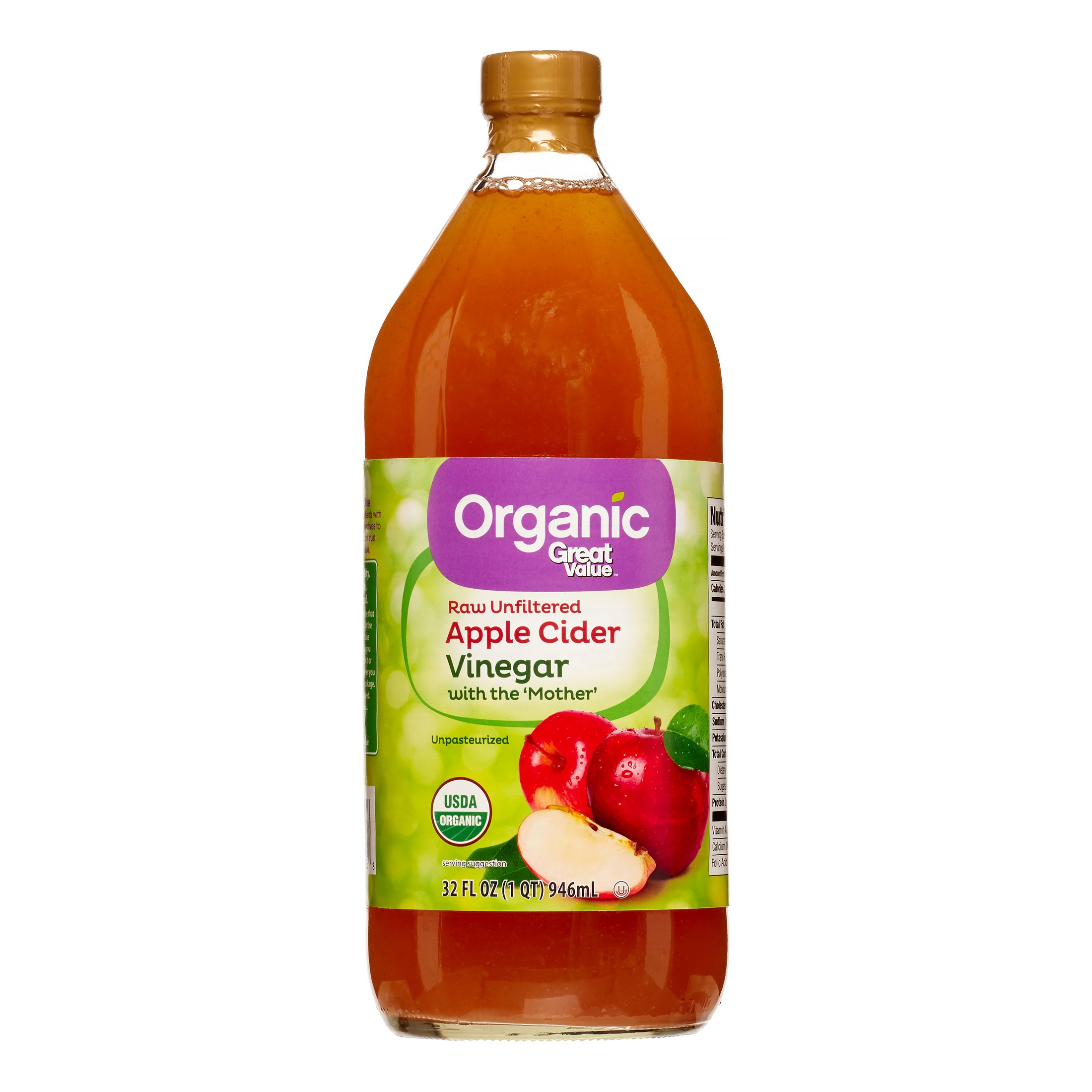 All Natural Organic Apple Cider Vinegar Raw Honey