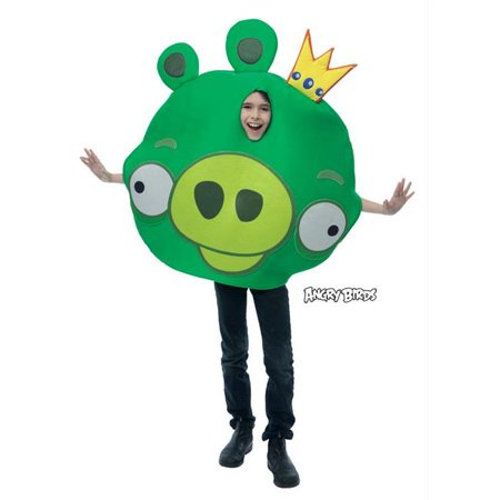 Costumes For All Occasions Pm769766 Angry Birds King Pig Child